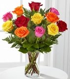 FTD Brighten Any Day Mixed Rose Bouquet Coupons